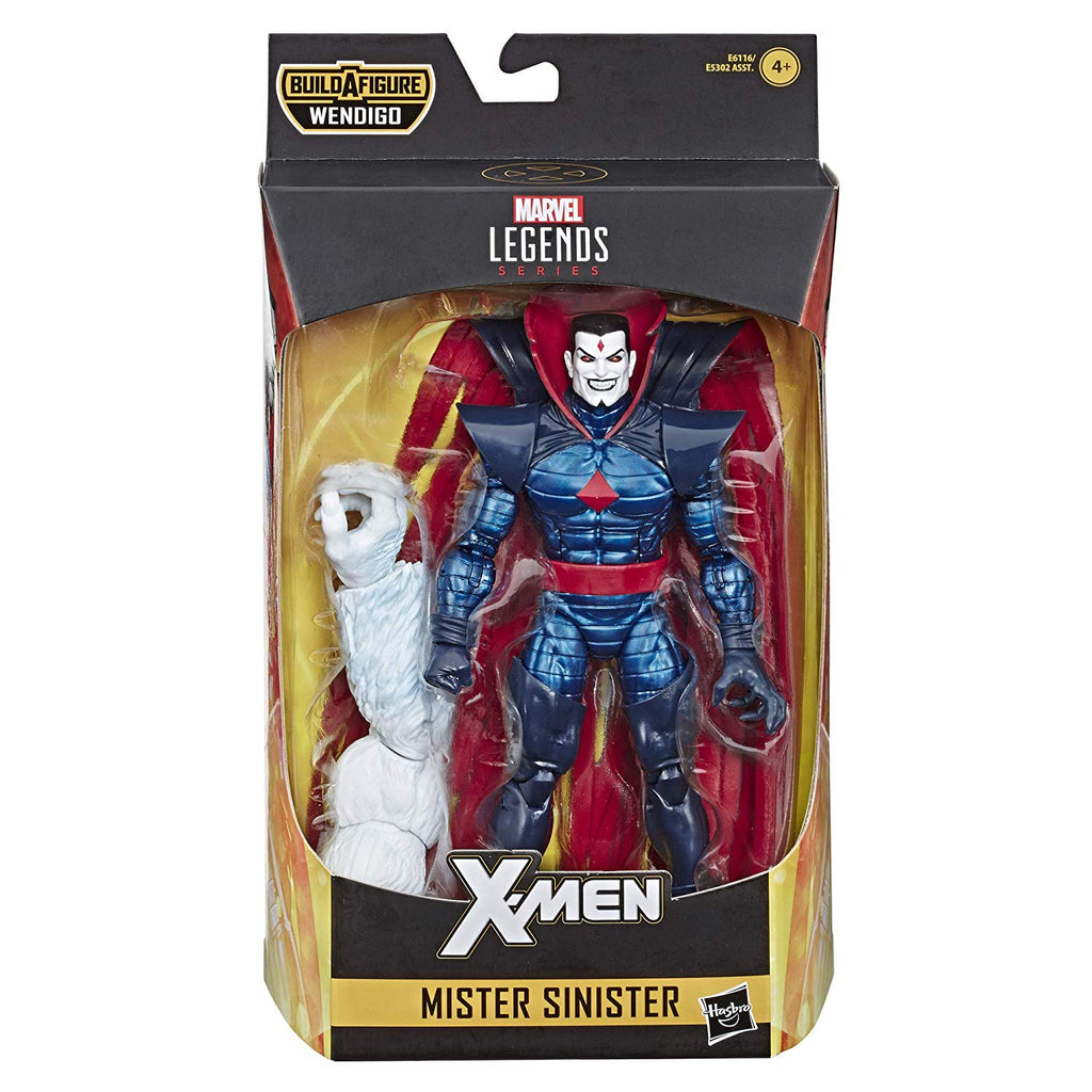 Marvel Legends X-Men Mister Sinister Action Figure, 6-inch 630509825387