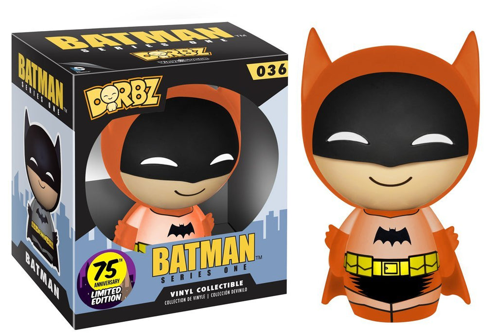 Funko Dorbz: Batman 75th Colorways Vinyl Figure, Orange