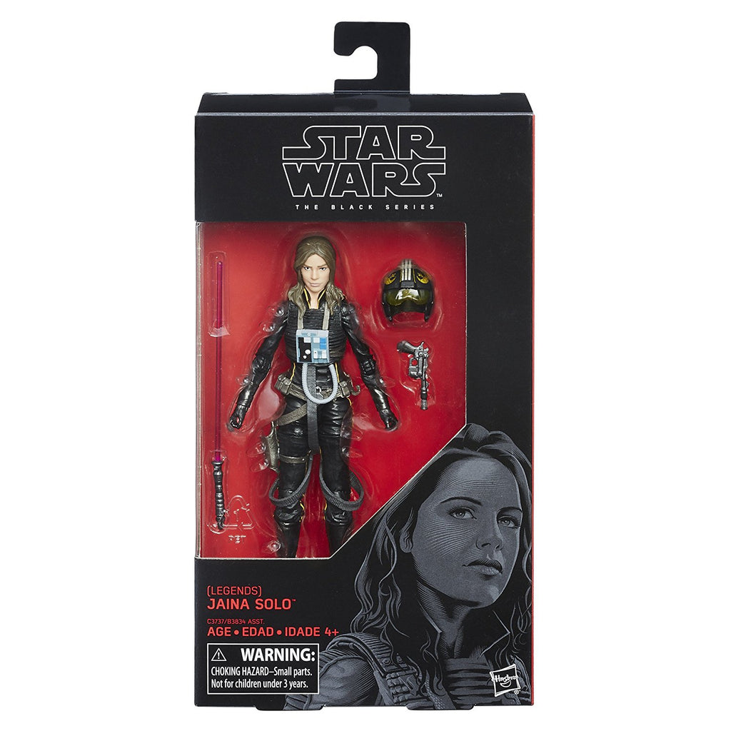 "Star Wars: Legends Black Series 6"" Jaina Solo"