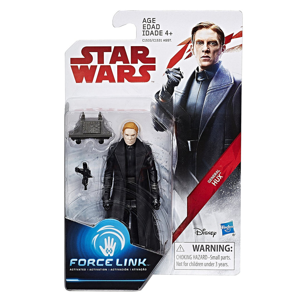 Star Wars: The Last Jedi General Hux Force Link Figure 3.75 Inches Package