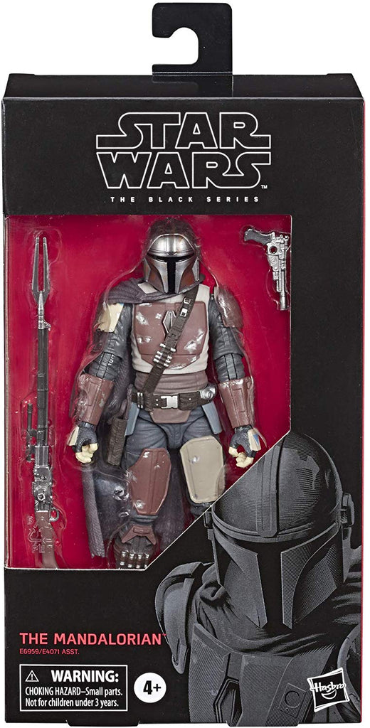"Star Wars: The Mandalorian Black Series 6"" Mandalorian 630509867127"