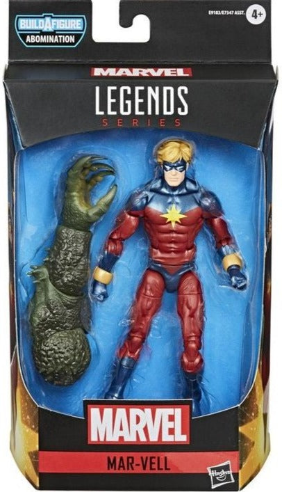 Marvel Legends Mar-Vell Action Figure, 6 Inch 5010993705559