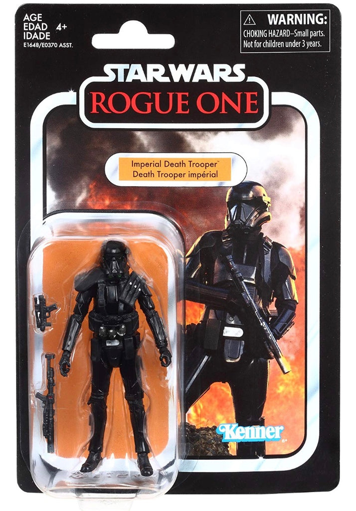 Star Wars The Vintage Collection Imperial Death Trooper Figure 3.75 Inches 630509735327