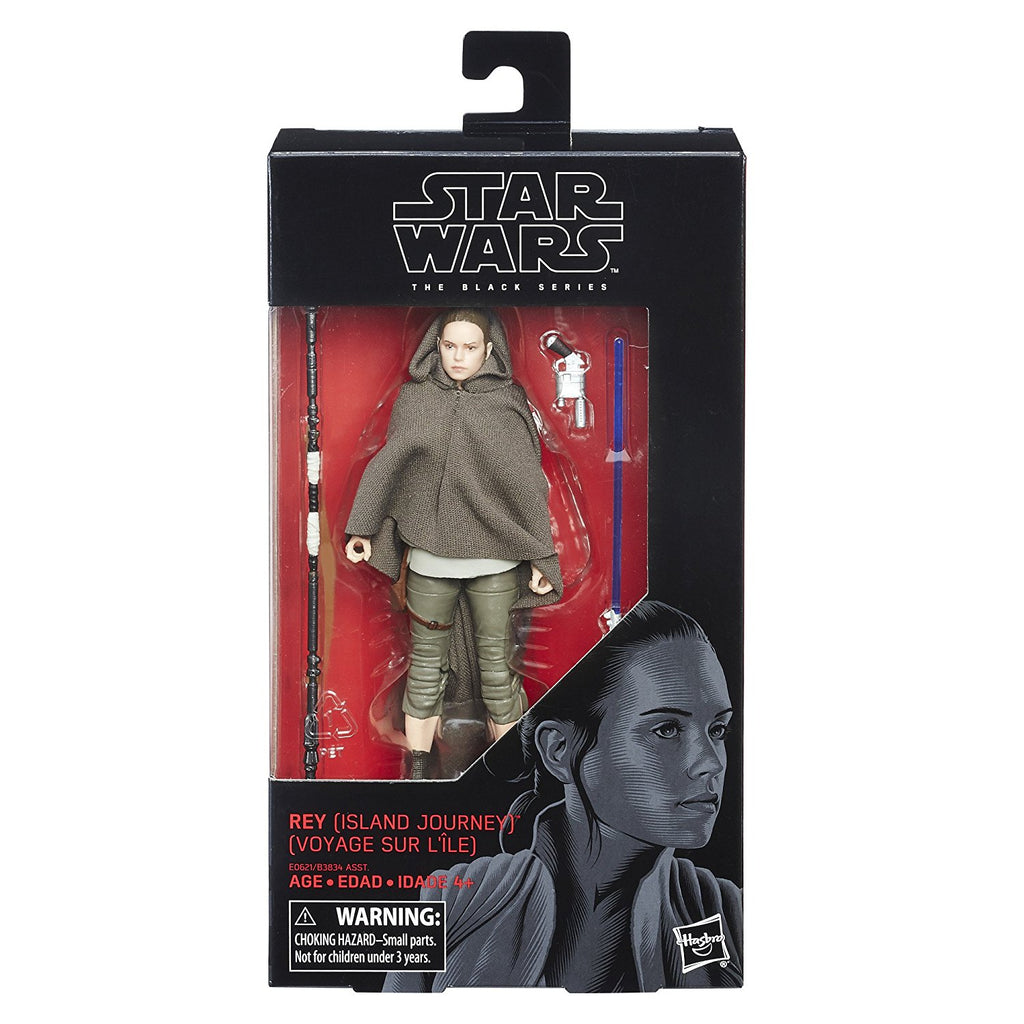 "Star Wars: The Last Jedi Black Series 6"" Rey (Island Journey)"