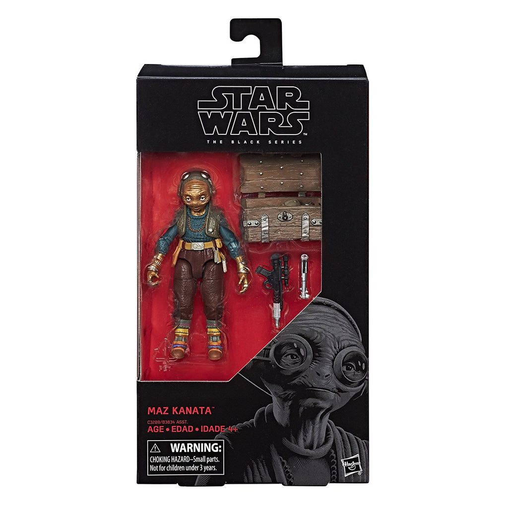 "Star Wars Episode 8 Black Series 6"" Maz Kanata Action Figure"