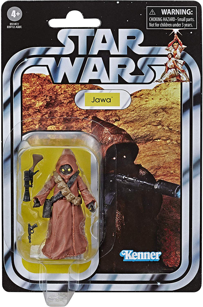 Star Wars The Vintage Collection Jawa Figure 3.75 Inches 630509873395
