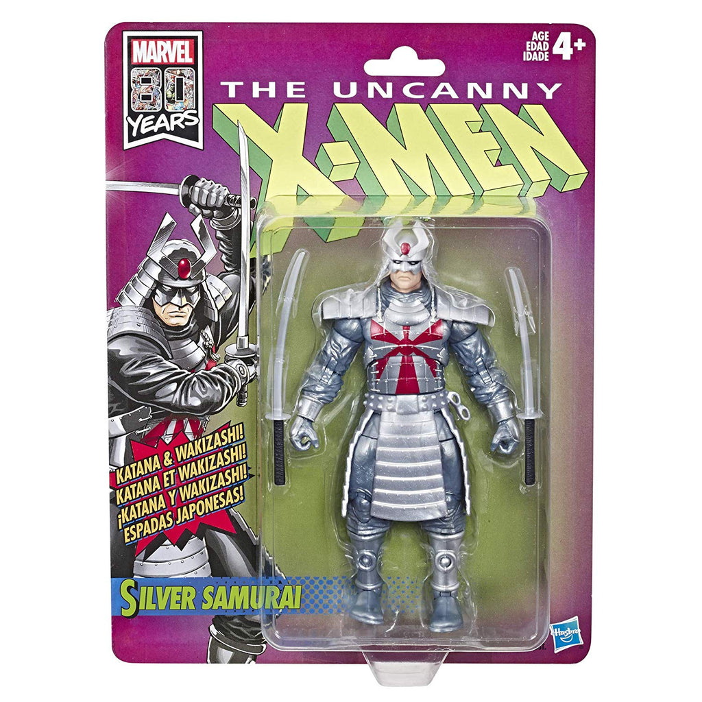 "X-Men Retro Marvel Legends Silver Samurai 6"" Action Figure 630509825691"