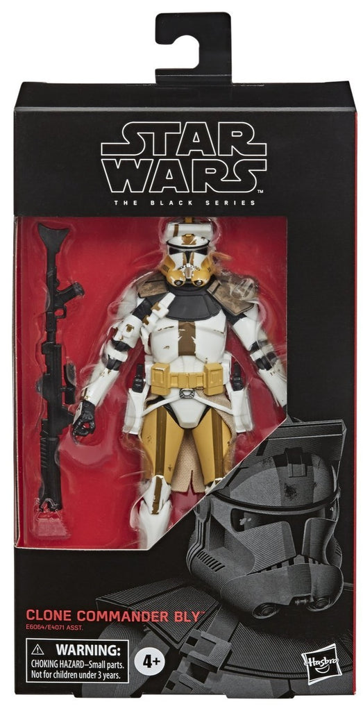 "Star Wars: Clone Wars Black Series 6"" Clone Commander Bly 630509902965"