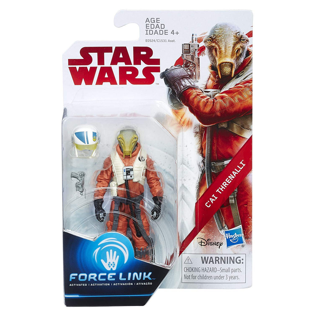 Star Wars: The Last Jedi C'ai Threnalli Force Link Figure 3.75 Inches 630509623235