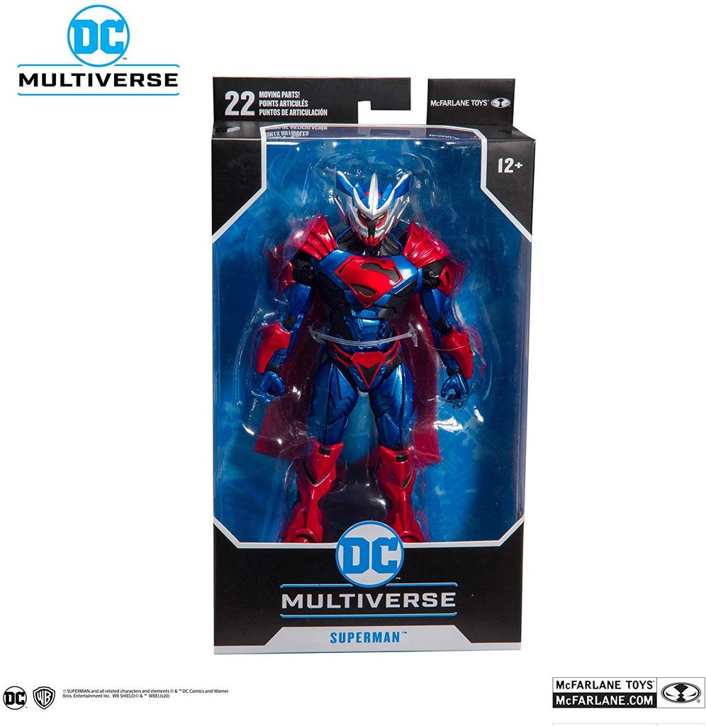 DC Multiverse Armored Wave 1 Superman Unchained Armor 7-Inch Action Figure 787926156027