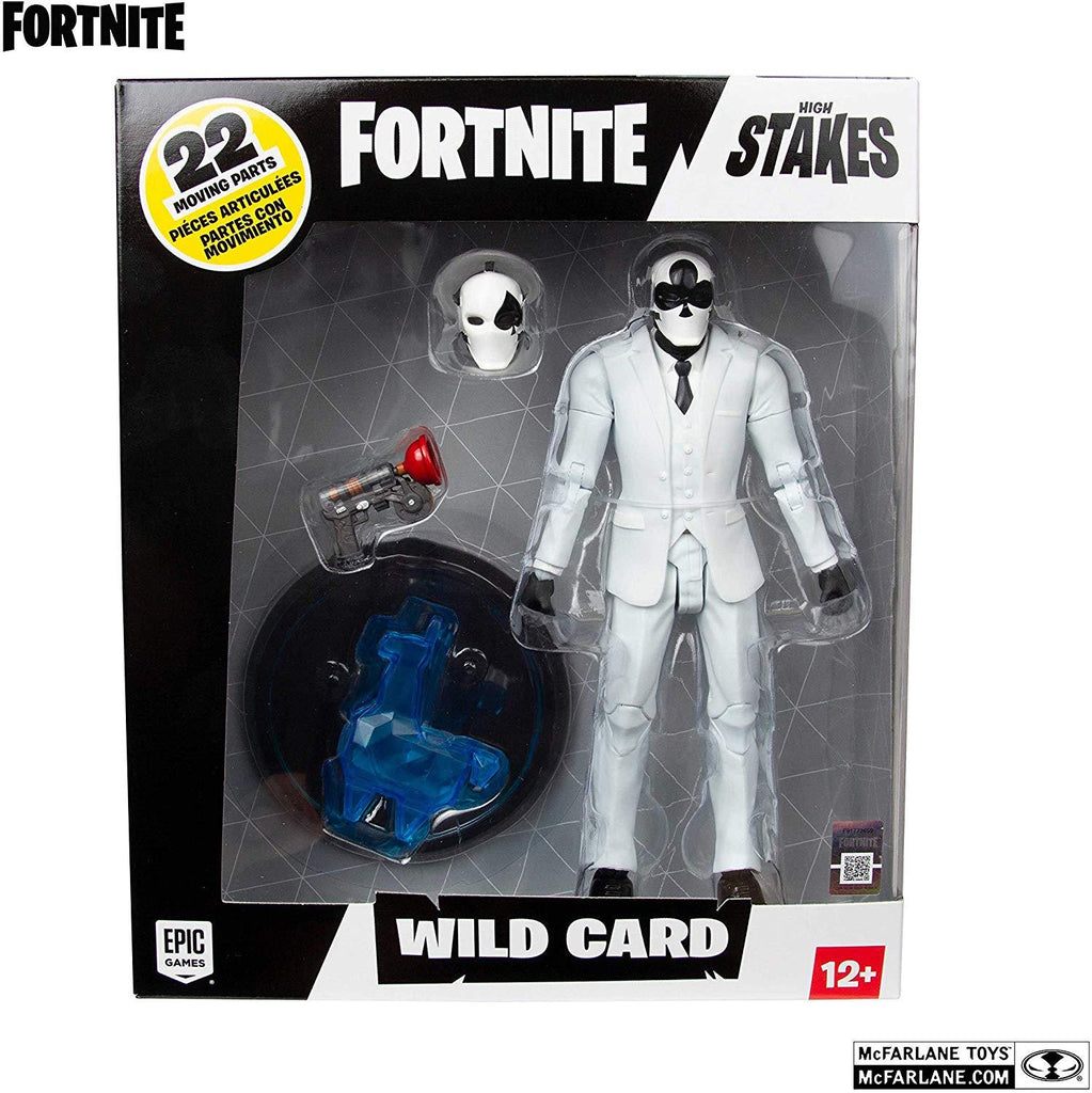 Fortnite Wild Card Black Suit 7-Inch Action Figure 787926106145