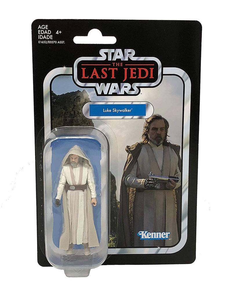 Star Wars The Vintage Collection Luke Skywalker Jedi Master Figure 3.75 Inches 630509735365