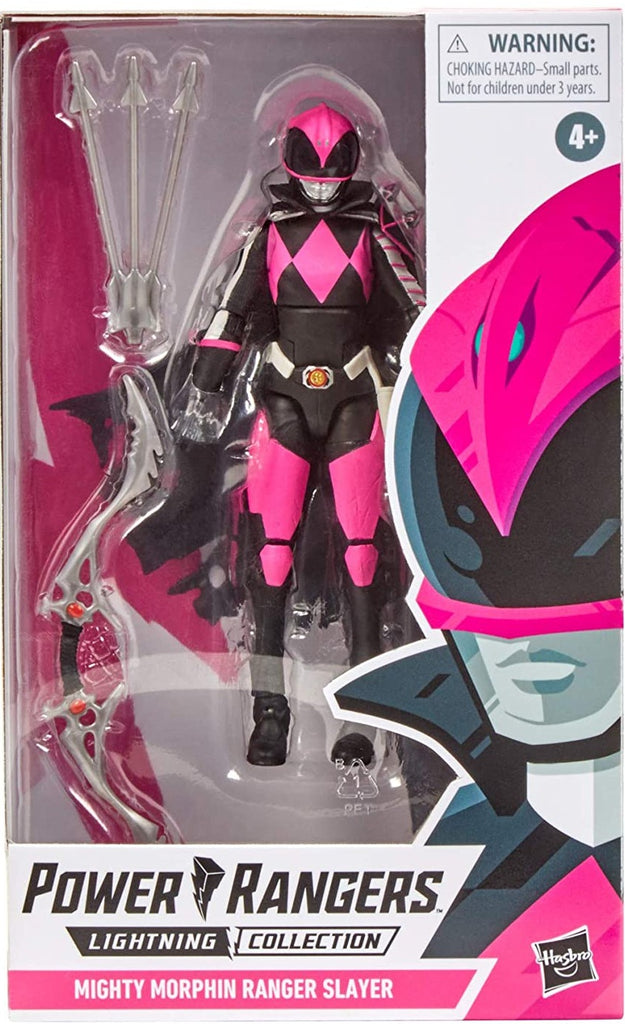 "Power Rangers Lightning Collection 6"" Mighty Morphin Ranger Slayer 630509936069"