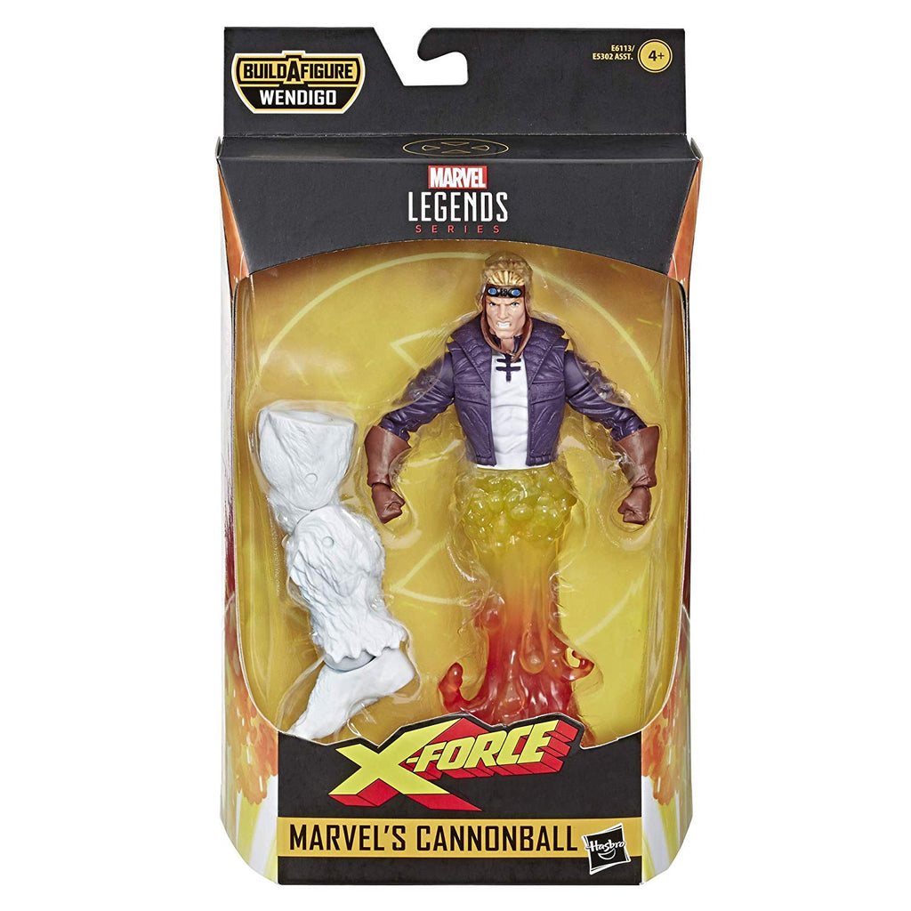 Marvel Legends X-Men X-Force Cannonball Action Figure, 6-inch 630509825448