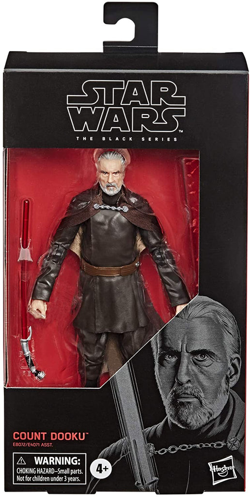 "Star Wars: Black Series Count Dooku 6"" Action Figure 630509902910"