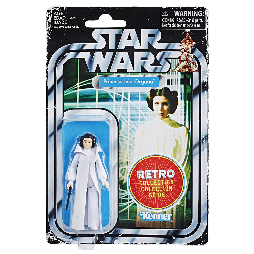 Star Wars Retro Collection - Princess Leia Organa - 2019 Episode IV: A New Hope 630509836628