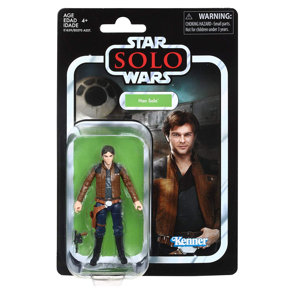 Star Wars The Vintage Collection Solo Han Solo Figure 3.75 Inches 630509611799