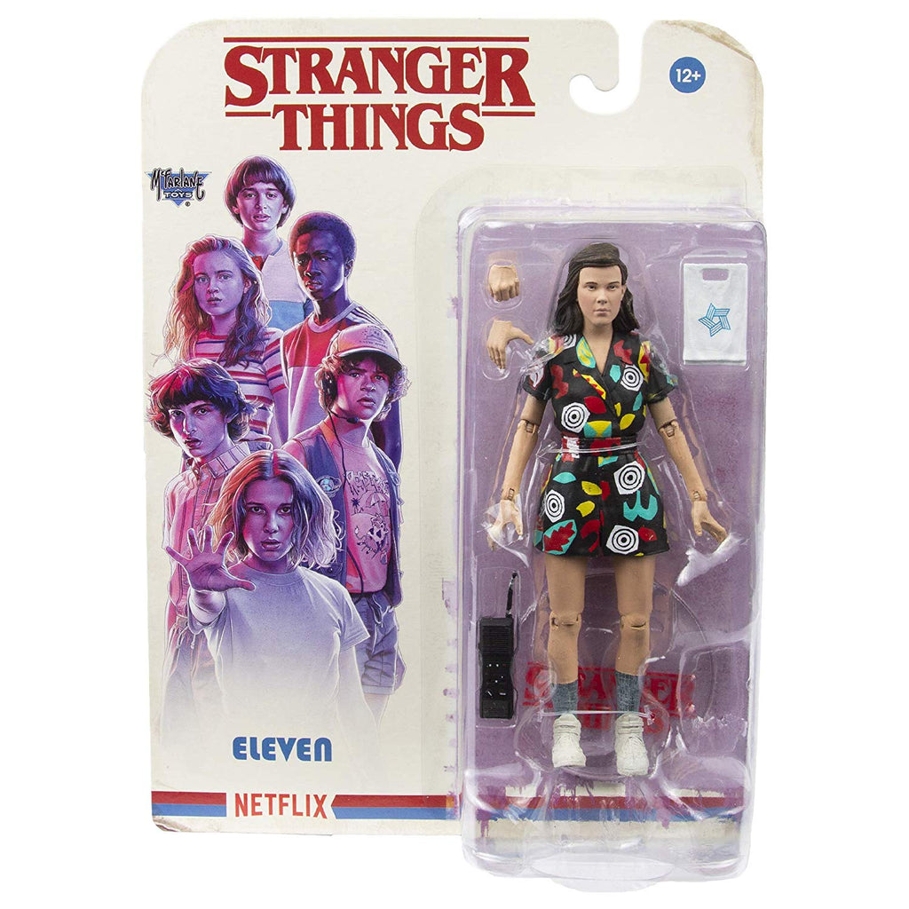 Stranger Things Eleven (Mall) 7-Inch Action Figure 787926105643