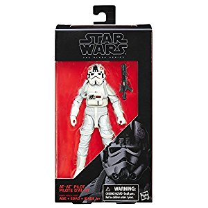 "Star Wars Episode 5 Black Series 6"" AT-AT Driver Action Figure"