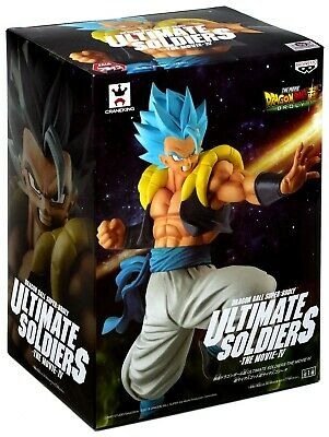 Dragon Ball Super Ultimate Soldiers Movie Banpresto Figure - Super Saiyan Blue Gogeta 819996102243
