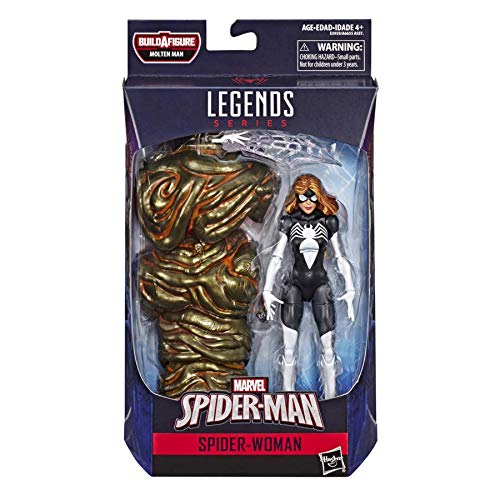 Marvel Legends Spider-Man Spider-Woman Action Figure, 6 Inch 630509817283