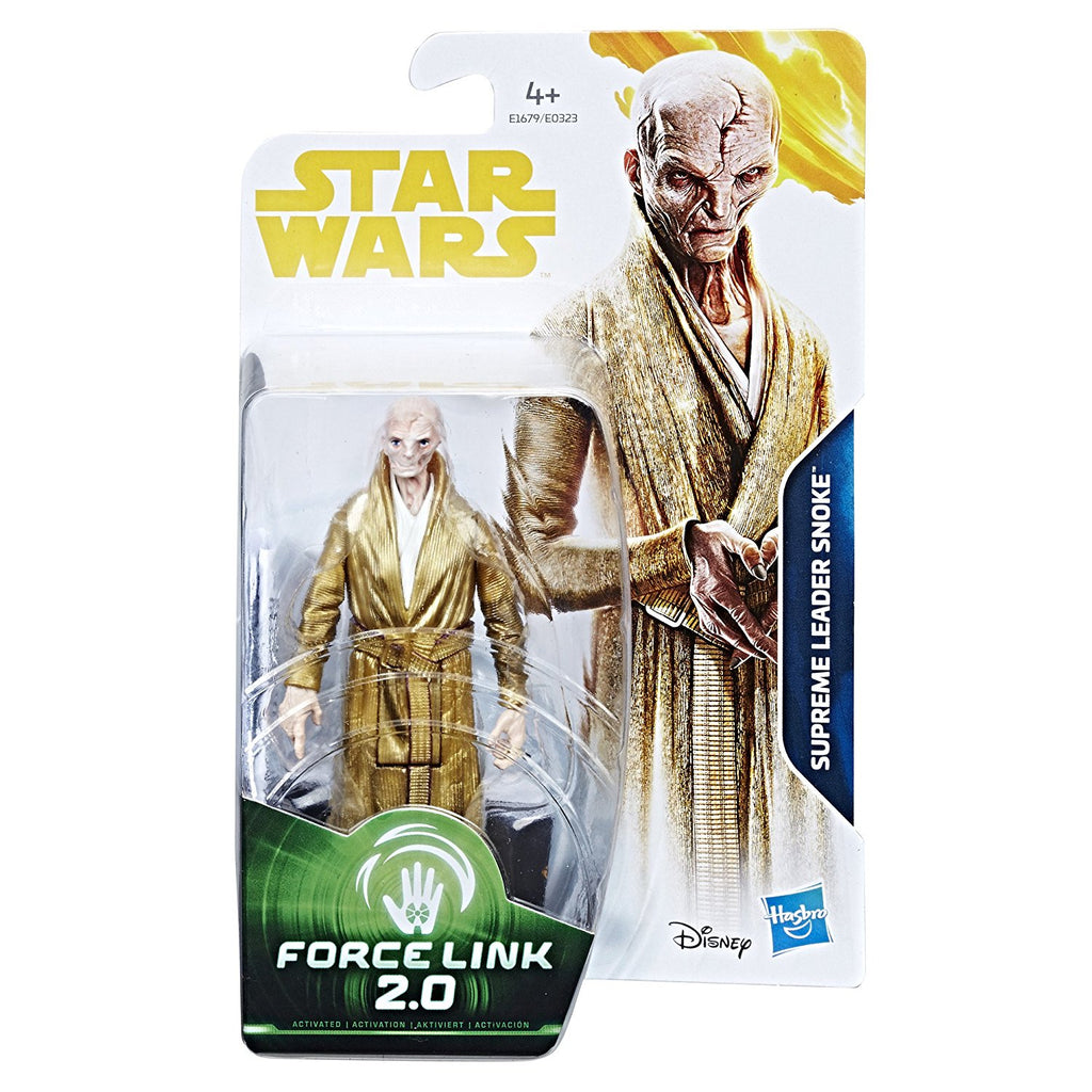 Star Wars: Solo Snoke Force Link 2.0 Figure 3.75 Inches 630509657346