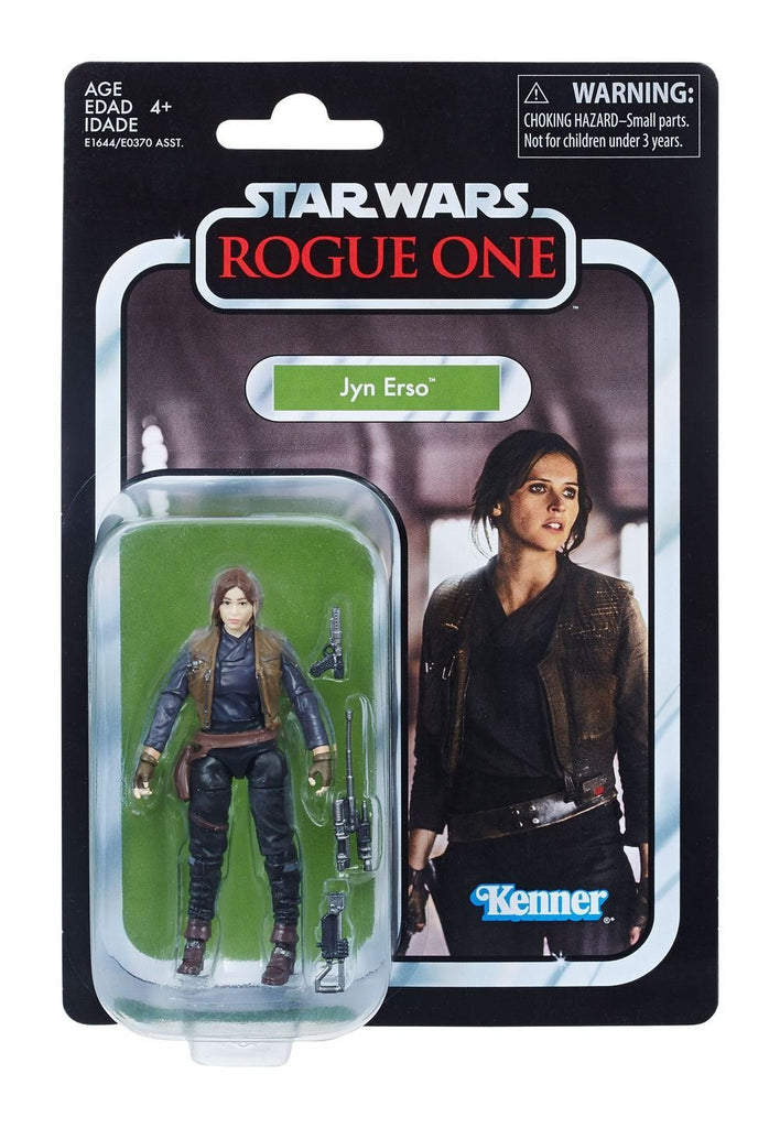 Star Wars The Vintage Collection Jyn Erso Figure 3.75 Inches