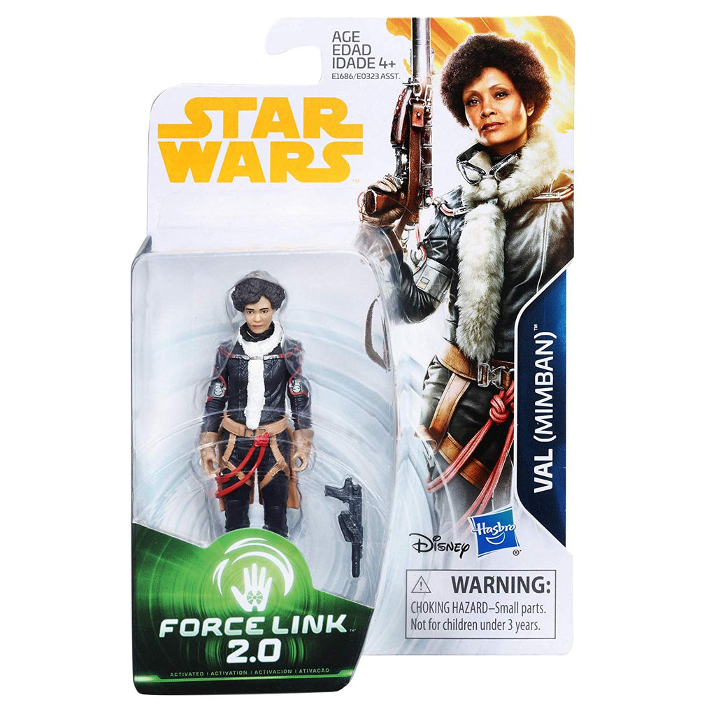 Star Wars: Solo Val (Mimban) Force Link 2.0 Figure 3.75 Inches 630509702794