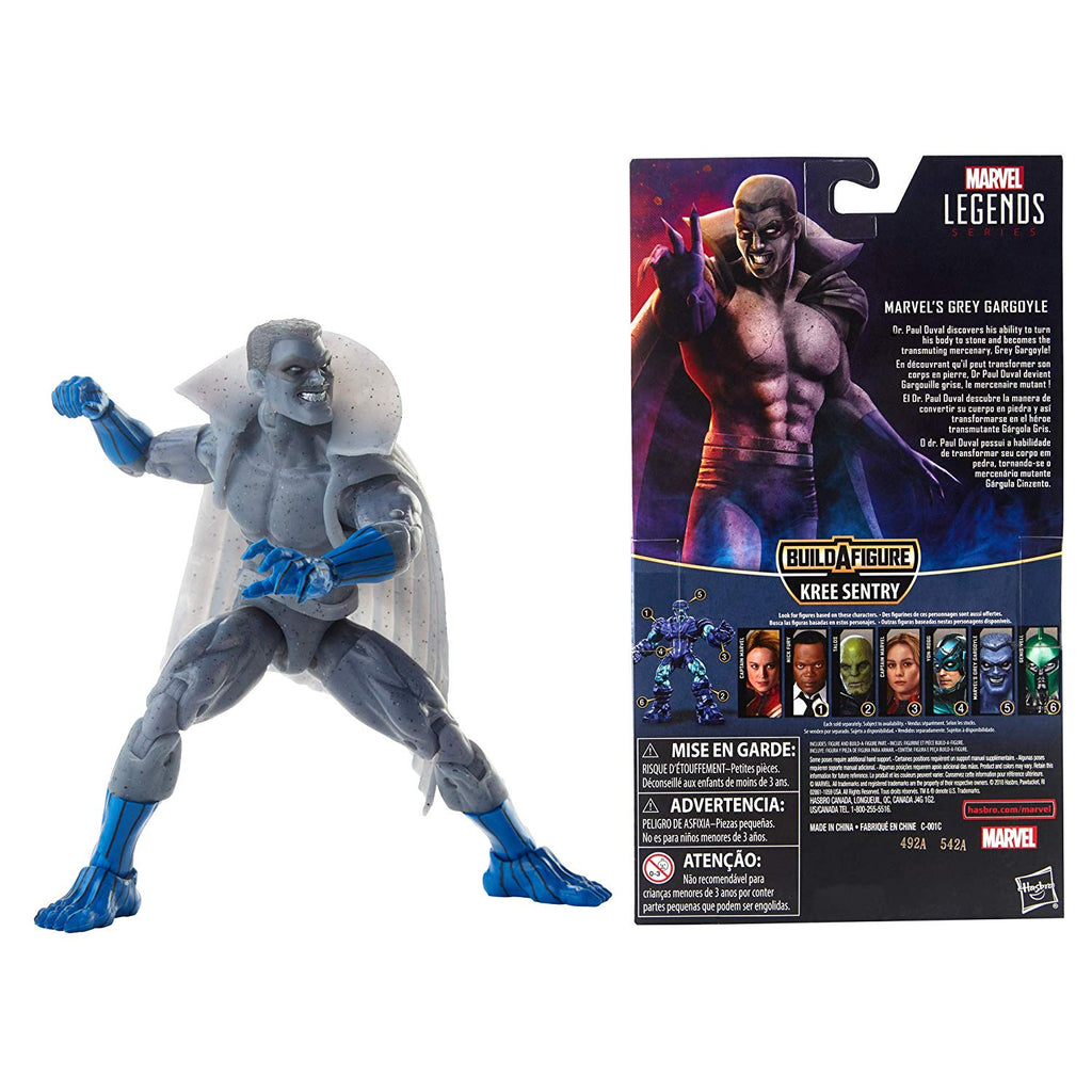 Marvel Legends Grey Gargoyle Action Figure, 6-inch 630509775477