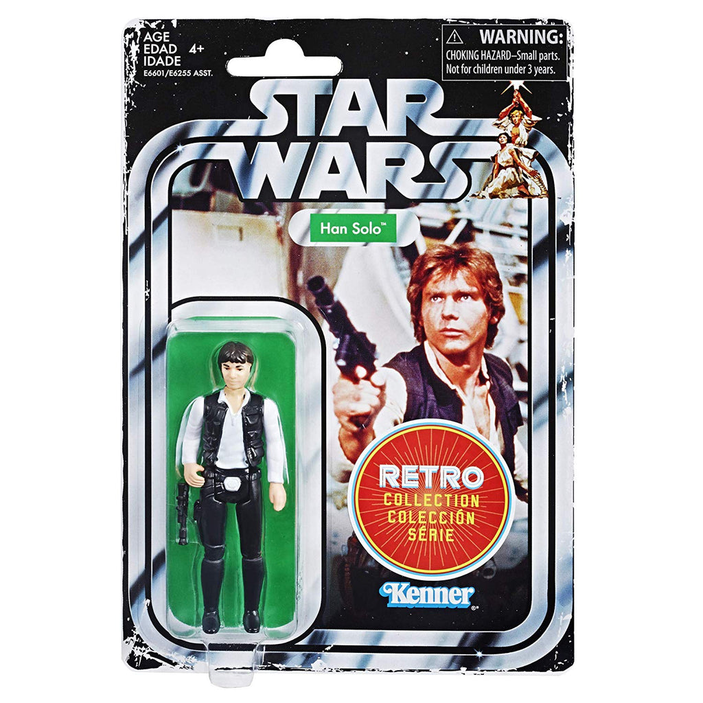Star Wars Retro Collection - Han Solo - 2019 Episode IV: A New Hope 630509836642