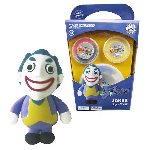 Batman the Joker Super Dough Do It Yourself Modeling Set 8436546894728