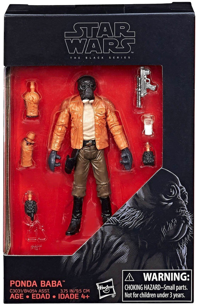 Star Wars Black Series Ponda Baba Action Figure 3.75 Inches 630509576500