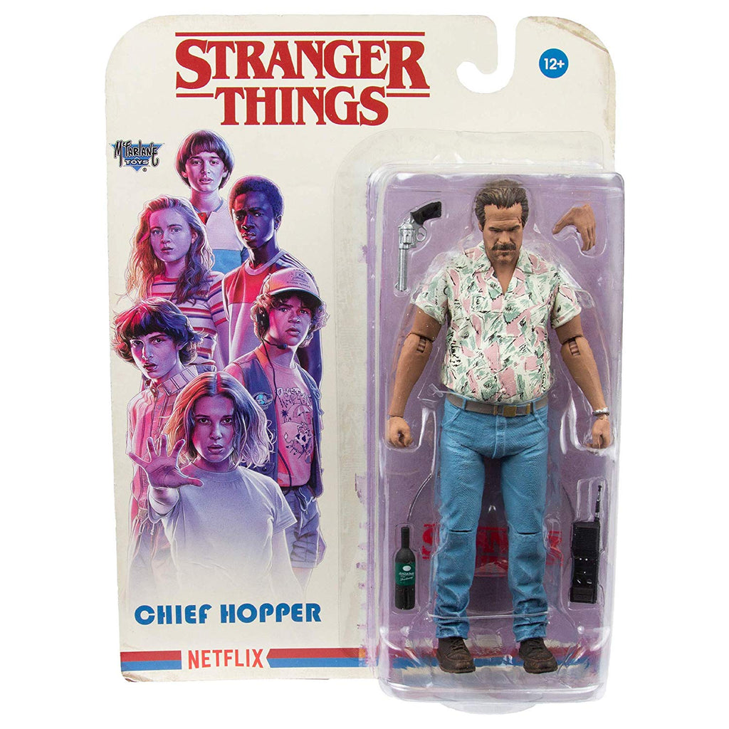 Stranger Things Chief Hopper (Date Night) 7-Inch Action Figure 787926105629