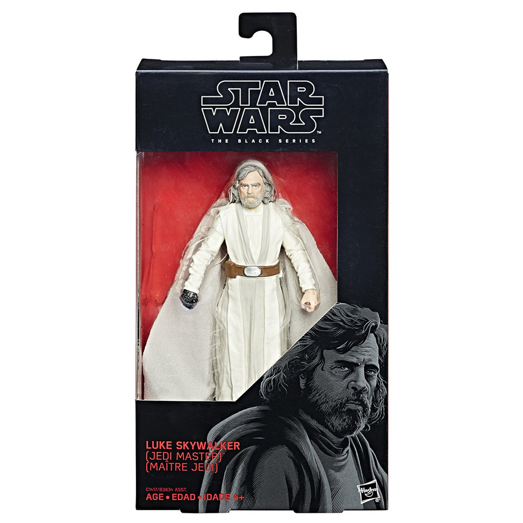 Star Wars The Black Series Episode 8 Luke Skywalker (Jedi Master), 6-inch in box