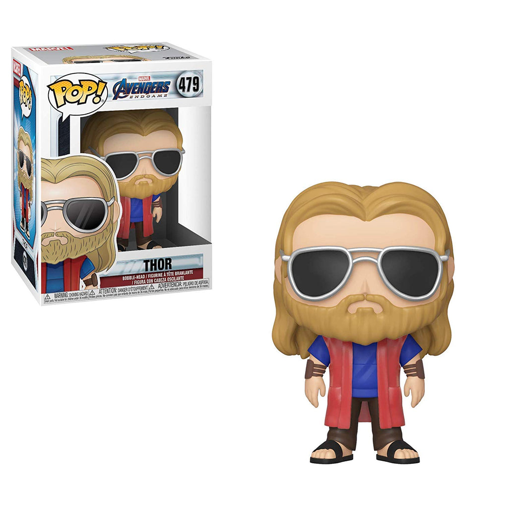 Funko POP! Marvel Avengers Endgame (Casual) Thor Collectible Figure 889698397421