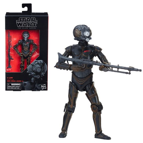 "Star Wars: The Empire Strikes Back Black Series 6"" 4-LOM"