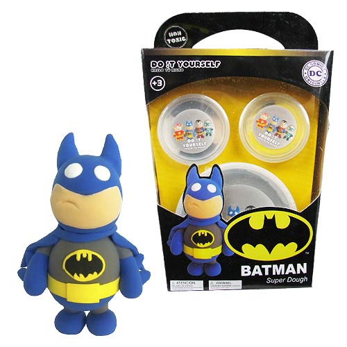 Batman Super Dough Do It Yourself Modeling Set 8436546894674