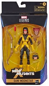 Marvel Legends New Mutants Dani Moonstar Action Figure, 6-inch 630509856725