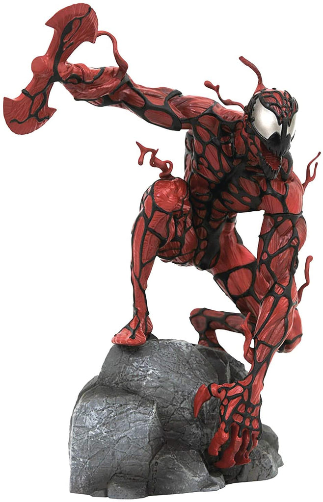 Halloween Comicfest 2020 Marvel Gallery: Carnage (Glow-in-The-Dark Version) PVC Figure, Mulitcolor, 9 inches 699788841839