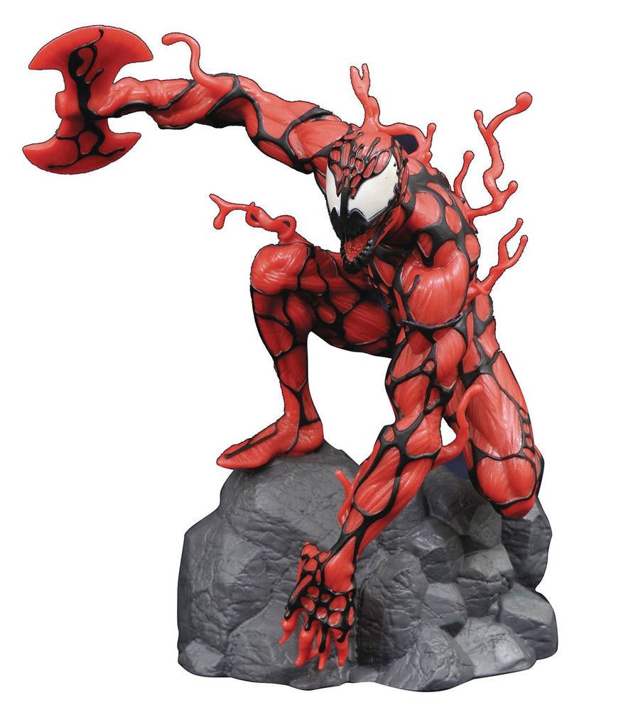 Halloween Comicfest 2020 Marvel Gallery: Carnage (Glow-in-The-Dark Version) PVC Figure 9 inches 699788841839