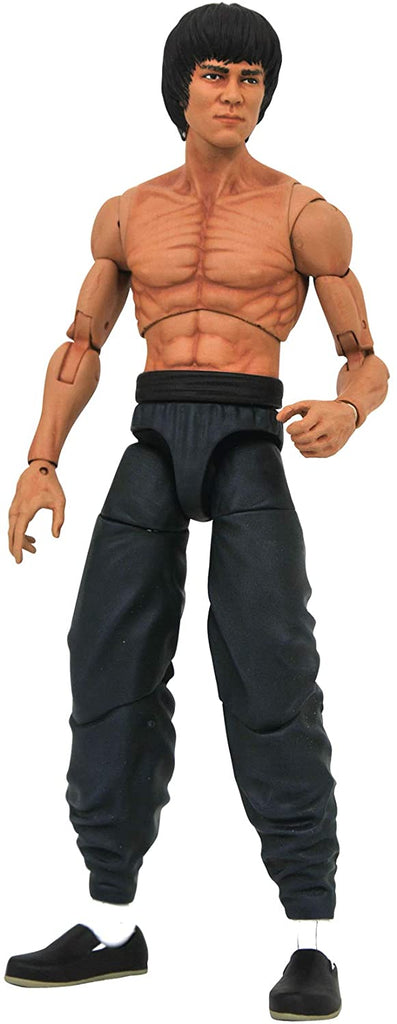 Diamond Select Bruce Lee (Shirtless Version) Series 2 Action Figure 699788833506
