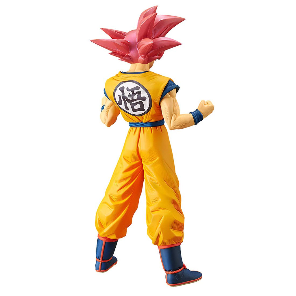 Dragon Ball Super Cyokoku Buyuden Super Saiyan God Son Goku Statue 819996102212