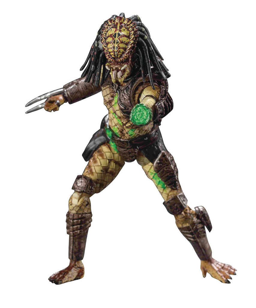 HIYA Predator 2: Battle Damage City Hunter 1/18 Scale Action Figure 6957534200441