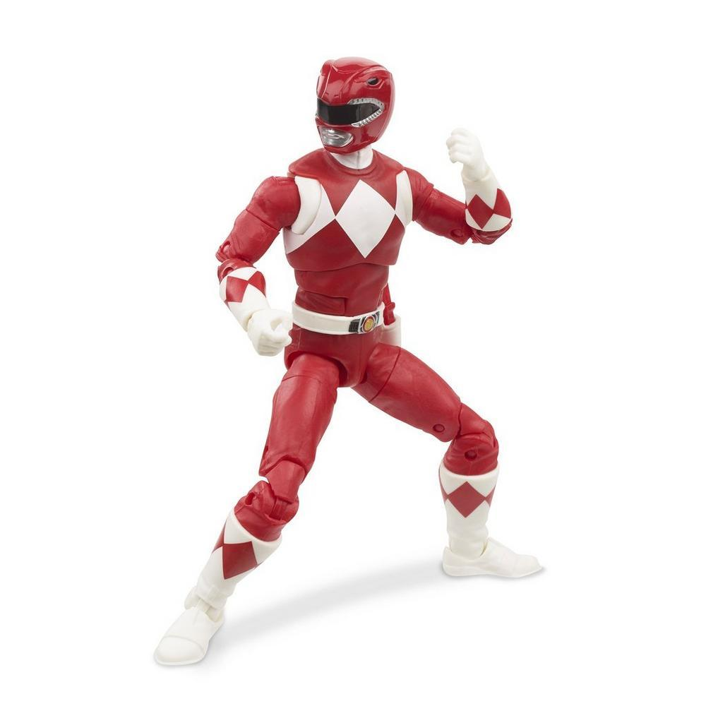"Power Rangers Lightning Collection 6"" Mighty Morphin Red Ranger 630509897261"
