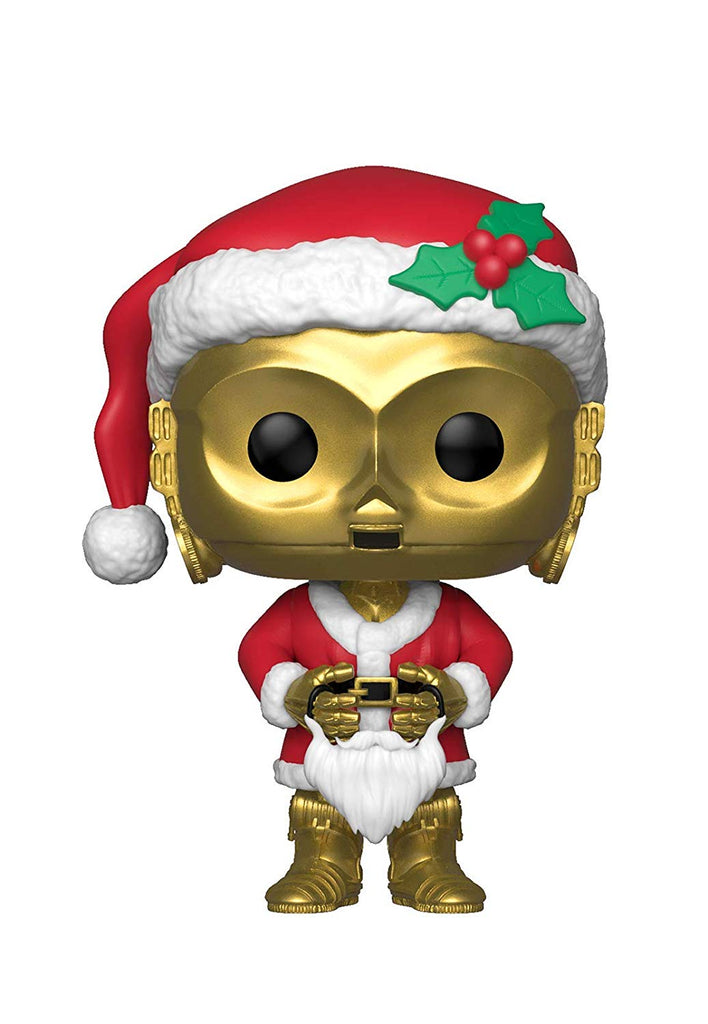 Funko Pop! Star Wars Holiday Santa C-3PO Vinyl Figure 889698338882