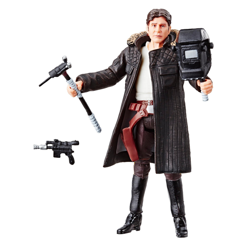 Star Wars The Vintage Collection Han Solo (Echo Base) Figure 3.75 Inches 630509785414
