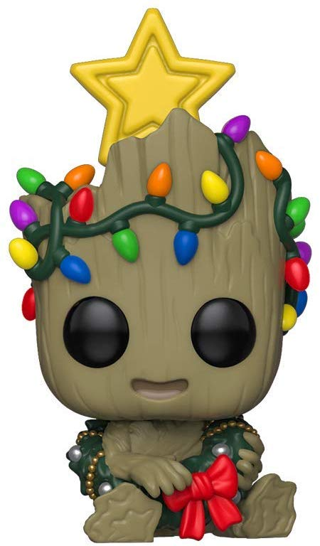 Funko Pop Marvel: Holiday Groot with Wreath Collectible Figure 889698433334