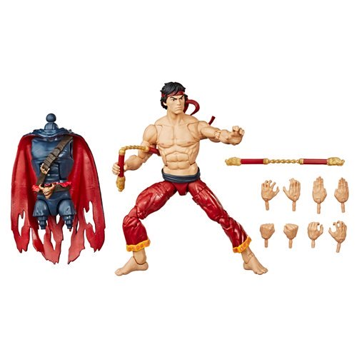 Marvel Legends Master of Kung Fu - Shang Chi Action Figure, 6 Inch 5010993659470