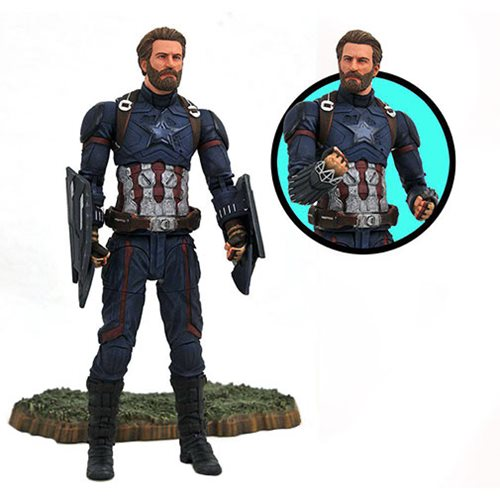Marvel Select Avengers: Infinity War Captain America Figure 699788829752