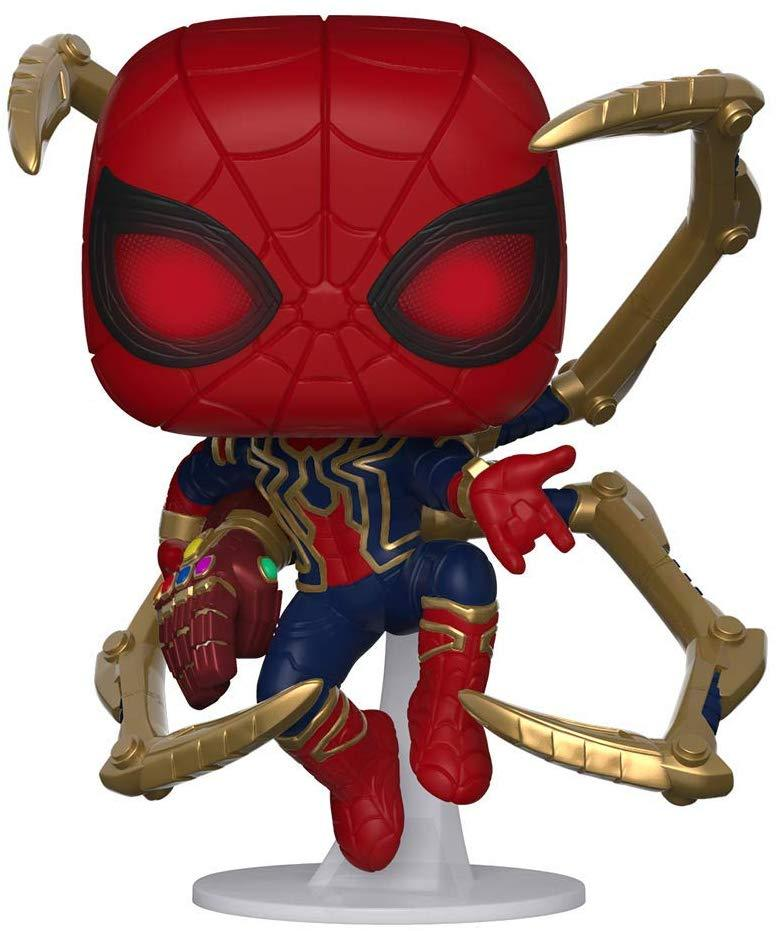 Funko POP! Marvel Avengers Endgame Iron Spider with Nano Gauntlet Collectible Figure 889698451383